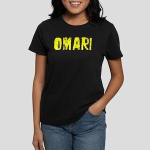 Omari Faded (Gold) Women's Dark T-Shirt