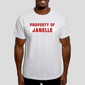 Property of JANELLE Light T-Shirt