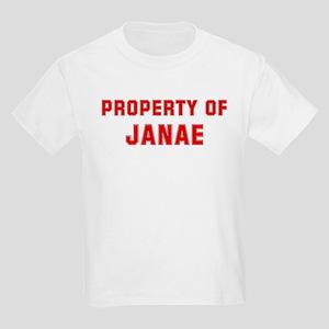 Property of JANAE Kids Light T-Shirt