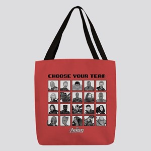 Avengers Infinity War Team Polyester Tote Bag