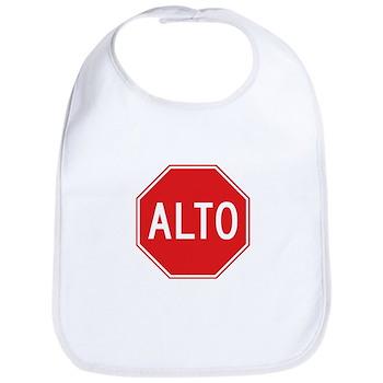 Stop, Mexico Bib