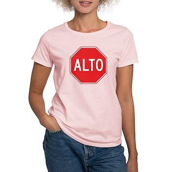 Stop, Mexico Women's Light T-Shirt