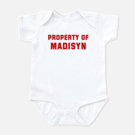 Property of MADISYN Infant Bodysuit