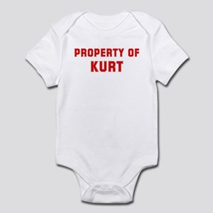 Property of KURT Infant Bodysuit