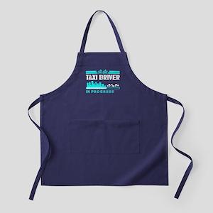 The Best Taxi Driver In Progress Apron (dark)