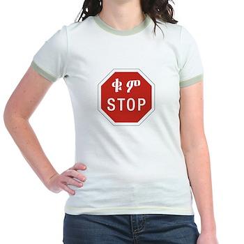 Stop, Ethiopia Jr. Ringer T-Shirt
