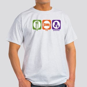 Eat Sleep Pantomime Light T-Shirt