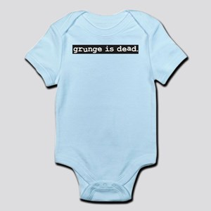 Grunge is Dead Iconic Seattle Music Body Suit