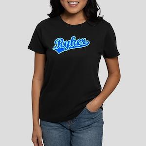 Retro Ryker (Blue) Women's Dark T-Shirt