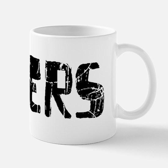 Rogers Faded (Black) Mug