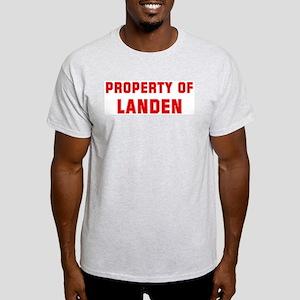Property of LANDEN Light T-Shirt