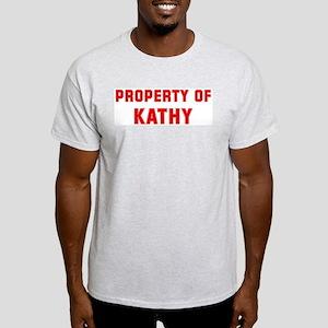 Property of KATHY Light T-Shirt