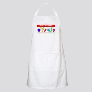 Most Wanted Poster BBQ Apron