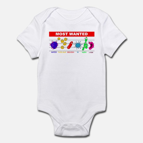 Most Wanted Poster Infant Bodysuit
