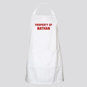 Property of NATHAN BBQ Apron