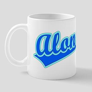 Retro Alonzo (Blue) Mug