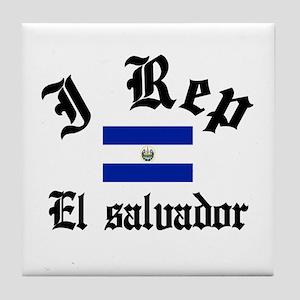 I rep El salvador Tile Coaster
