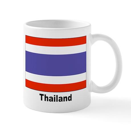Thailand Thai Flag Mug