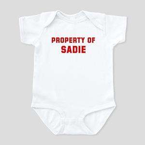 Property of SADIE Infant Bodysuit