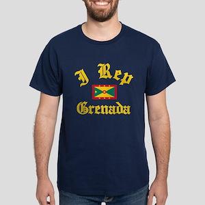 I rep Grenada Dark T-Shirt