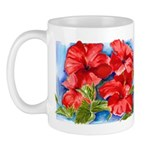 Red Hibiscus Mug