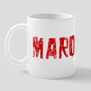 Marquette Faded (Red) Mug