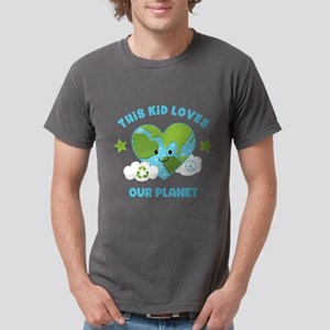 This Kid Loves Earth Mens Comfort Colors Shirt