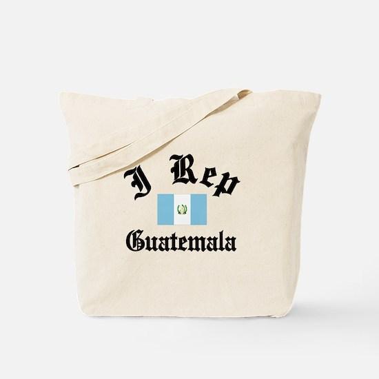 I rep Guatemala Tote Bag