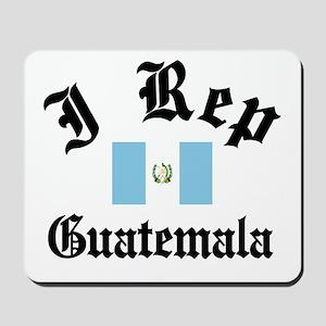 I rep Guatemala Mousepad