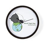 Wall Clock: 'Tapir on World'