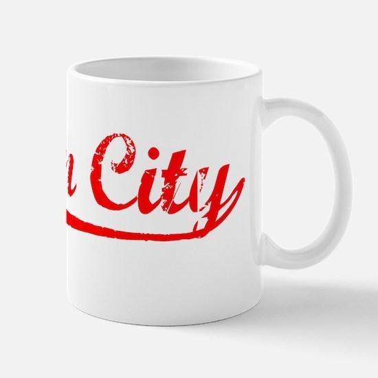 Vintage Suisun City (Red) Mug
