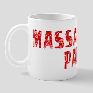 Massapequa P.. Faded (Red) Mug