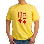 10d 8d Poker Yellow T-Shirt