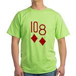 10d 8d Poker Green T-Shirt