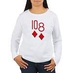 10d 8d Poker Women's Long Sleeve T-Shirt