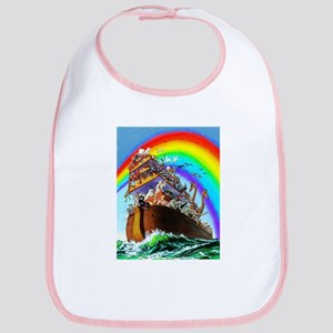 Noah's Ark drawing Bib