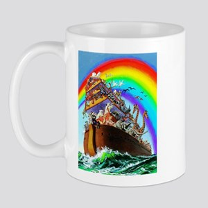 Noah's Ark drawing Mug