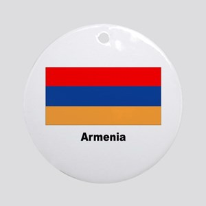 Armenia Armenian Flag Keepsake (Round)