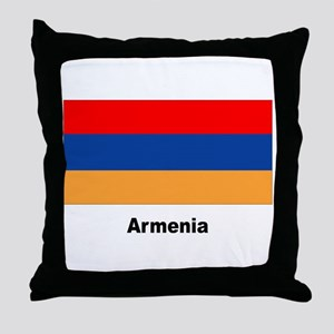 Armenia Armenian Flag Throw Pillow