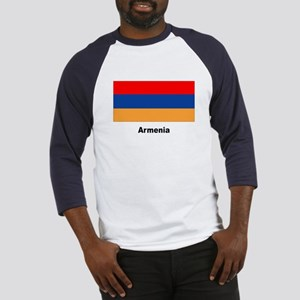 Armenia Armenian Flag (Front) Baseball Jersey
