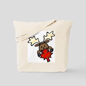 Canada Day + Moose Tote Bag