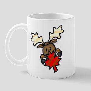 Canada Day + Moose Mug