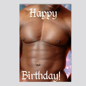 Birthday Cards Postcards (Package of 8)