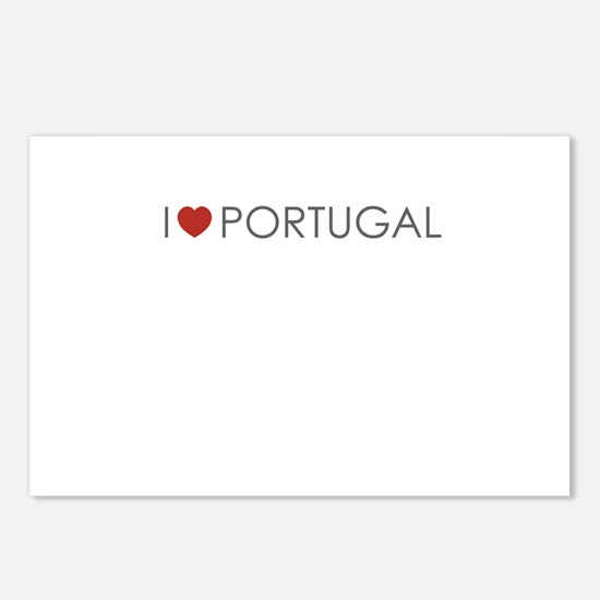 I <3 Portugal Postcards (Package of 8)