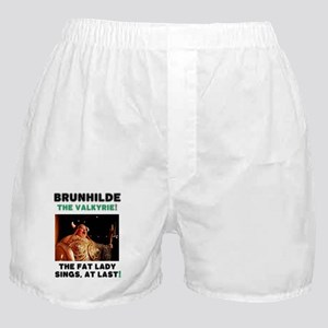 BRUNHILDE - THE VALKYRIE - THE FAT LA Boxer Shorts