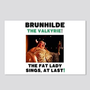 BRUNHILDE - THE VALKYRIE Postcards (Package of 8)