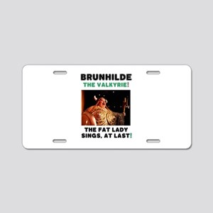 BRUNHILDE - THE VALKYRIE - Aluminum License Plate