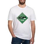 Kom Club Fitted T-Shirt Green
