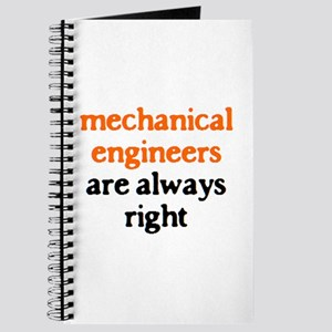 mechanical engineers are right Journal