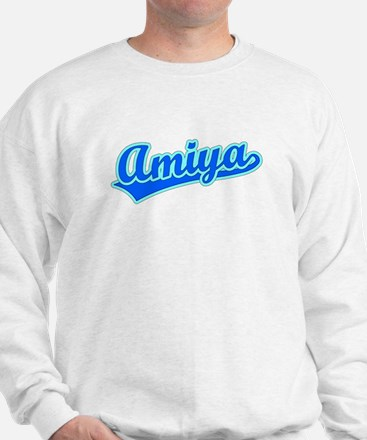 Retro Amiya (Blue) Sweatshirt